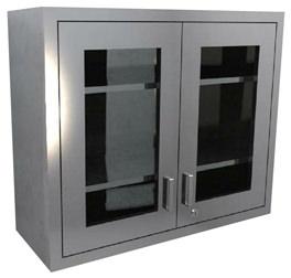 DGDWC Dual Glass Door Wall Cabinet