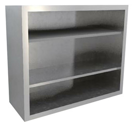 DNDWC Open front Double Wall Cabinet