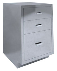 SBC-A5 Single Base Cabient 3 drawer