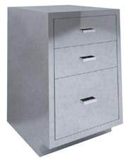 SBC-A5 Single Base Cabinet 3 drawer