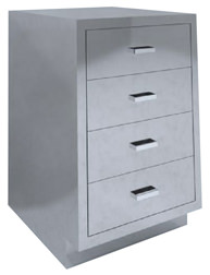SBC-A4 Base Cabinet 4 drawer