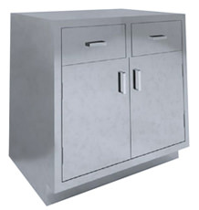 SBC-A8 Dual Base Cabinet 2 drawer