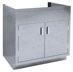 SBC-A9 Dual base cabinet for sink basin