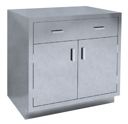 SBC-A10 Dual Base Cabinet with single drawer