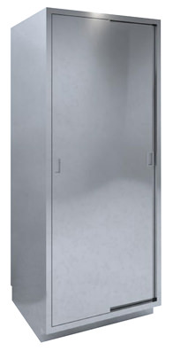 SHC-A5 High Cabinet Dual Solid Sliding Door