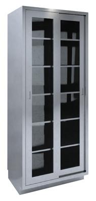 SHC-A6 High Cabinet Dual Glass Sliding Door