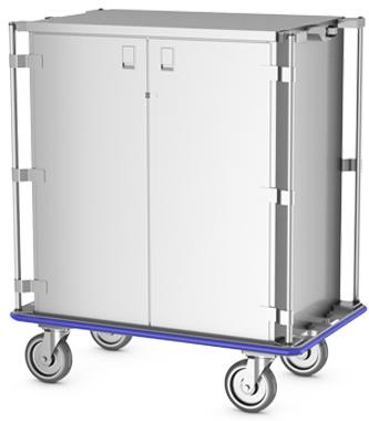 Vertical Handle Case Cart