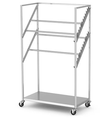 Sterile Wrap Cart