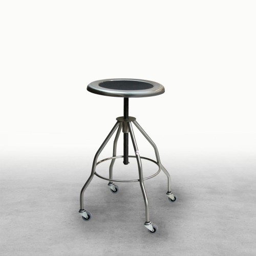 Clifton Stainless Steel Stool