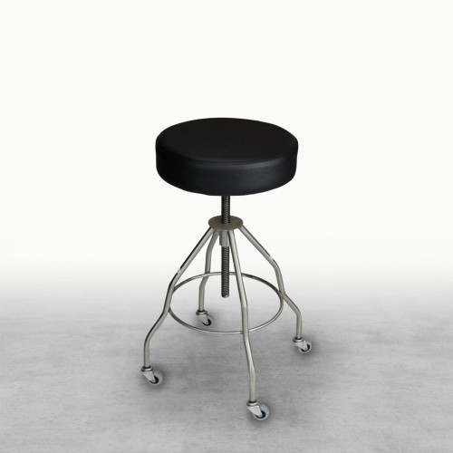Passaic Stainless Steel Stool