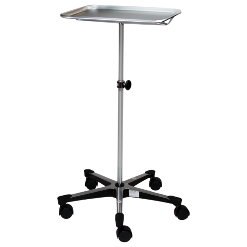 SSC-124 Chrome Mobile Mayo Stand