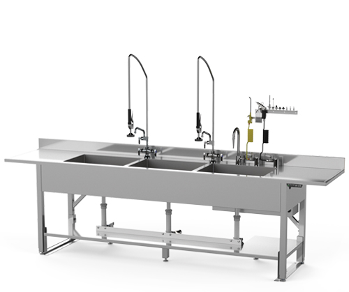 Sinks - Height Adjustable Decontamination Sink