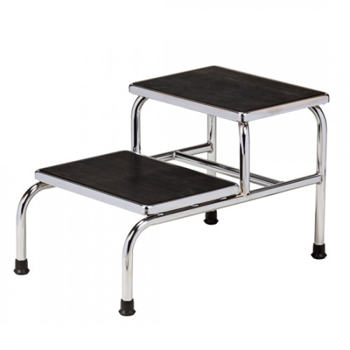 SSC-220 Chrome Two Step Stool