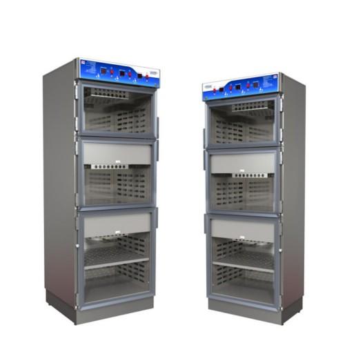 Warming Cabinet - Triple Chamber
