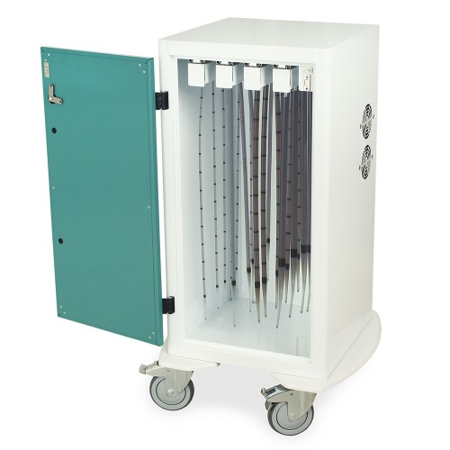DSC24S-DP Short Dilator Drying Cart with HEPA