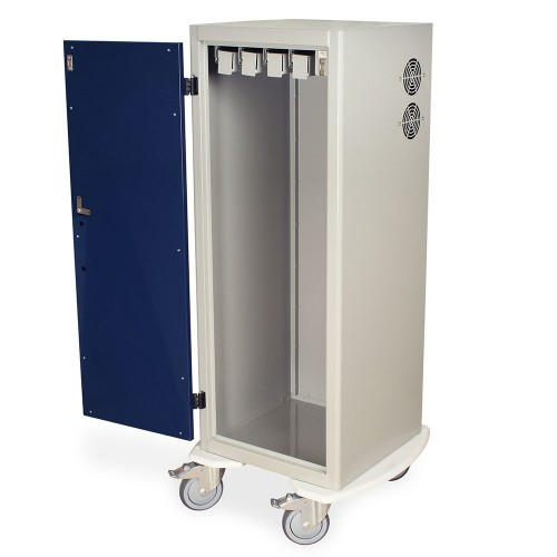 DSC24T-DP Tall Savary Dilator Drying Cart with HEPA