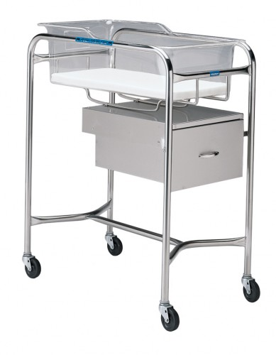 P-1110-A-SS Stainless Steel Bassinet