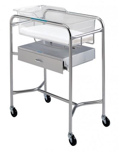 P-1110-B-SS  Bassinet Cart